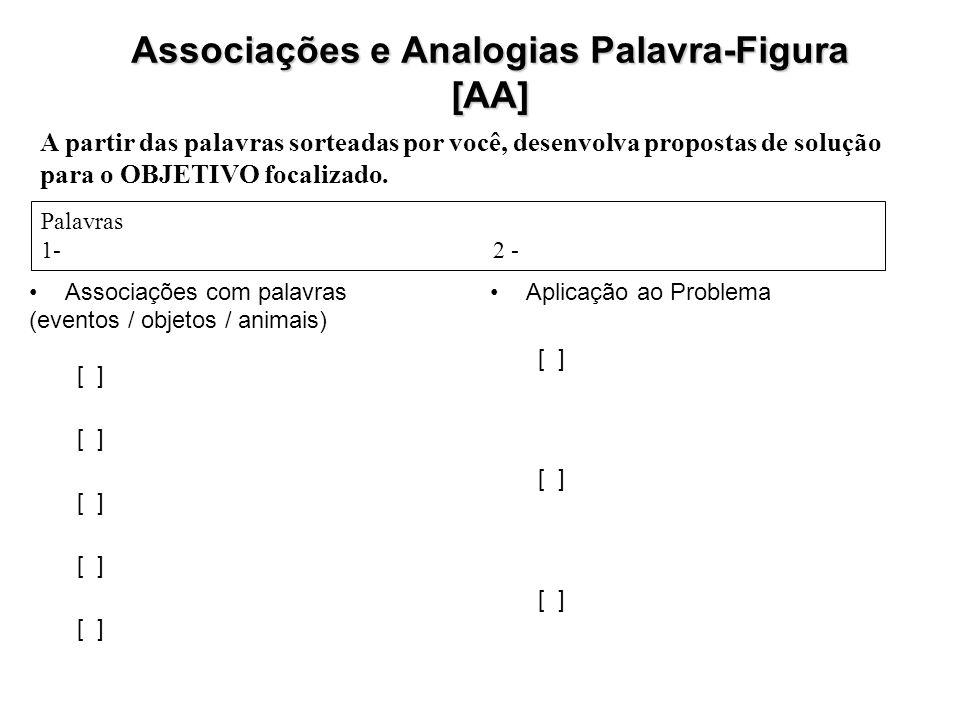 Associações e Analogias Palavra-Figura [AA]